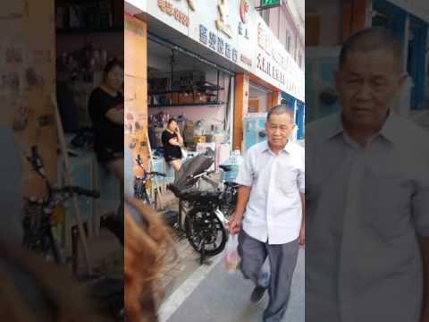 Chợ máy may công nghiệp tại Quảng Châu - Trung Quốc