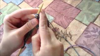 Knitting: How to Start a New Row (Beginner's Dishcloth Tutorial) Thumbnail