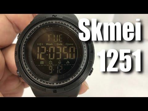 0be05866e3b SKMEI Digital Watch Large Face Sport Wristwatch Black 1251 Review ...