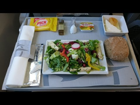 Aegean Airlines - Business Class - A3603 - London to Athens - Airbus A321
