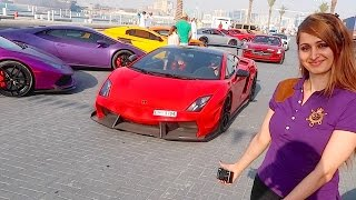 A DAY WITH LAMBORGHINI KIDS !!!