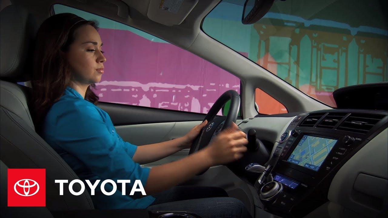 2017 Prius V How To Eco Mode Toyota