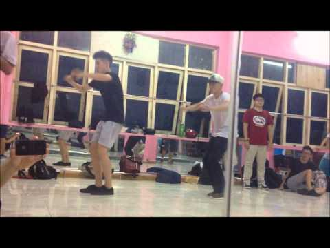 LET THE GROOVE GET IN l Choreography @BUMM DANG Ft. @ANTEI ( 242 studio )