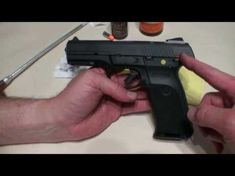 Ruger SR9 Cleaning and Disassembly excellent demonstration