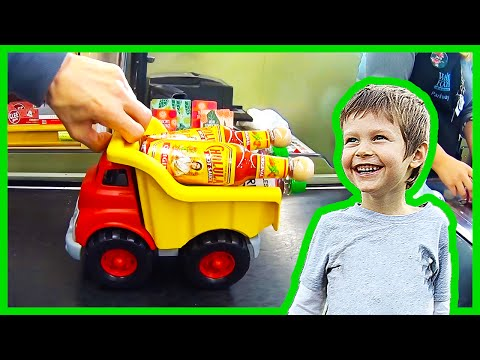 Toy Trucks Shop At Whole Foods