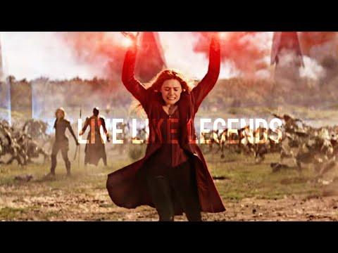 Wanda Maximoff - Live Like Legends (INFINITY WAR SPOILERS!)