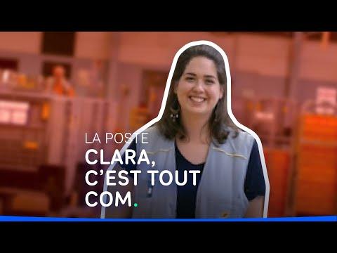 Métiers de la communication - Témoignage de Clara, chargée de communication à La Poste #shorts