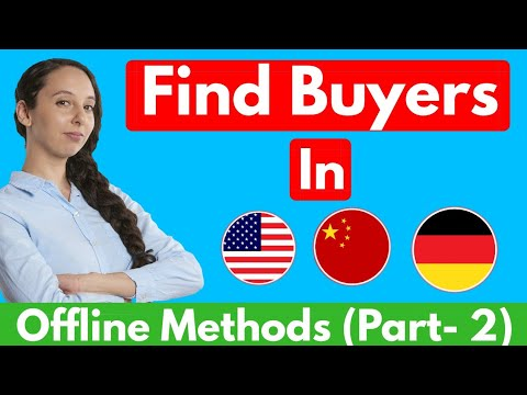 Find Buyers For Export In 2018 (Fast!)