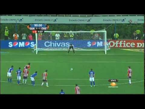 Chivas vs Cruz Azul (2-1) J10 Clausura 2012