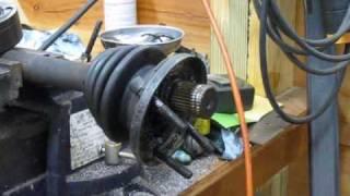 Rebuilding CV joints - part 1