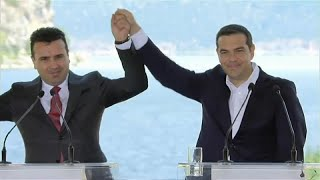 Greece and FYROM sign historic deal on new name for the Balkan state