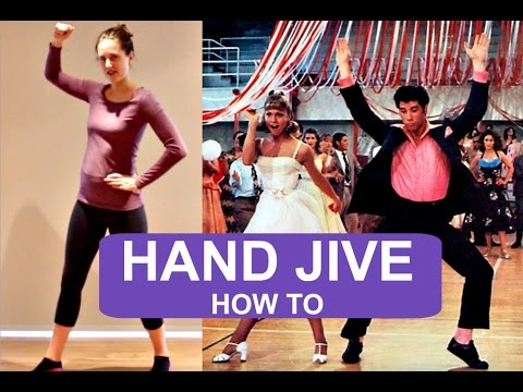 How To Do THE HAND JIVE  andreakswilson HOW TO  YouTube