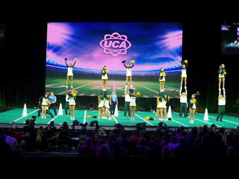 Southeastern Louisiana Univ Cheer places 3rd at the 2019 UCA College Cheerleading Nationals