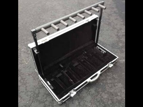 Road Runner Guitar Road Case Guitar Stand Flightcase