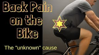 Back Pain on the Bike // beyond the bars are too low