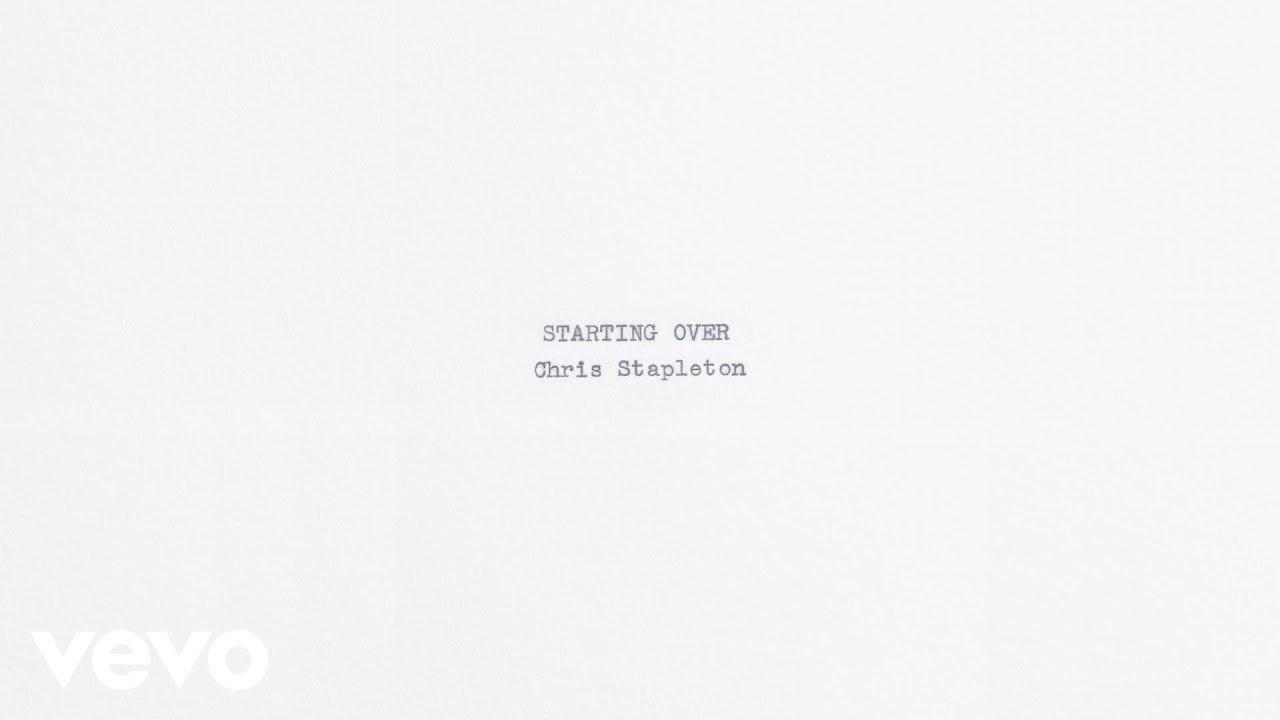 Chris Stapleton - Starting Over (Audio)