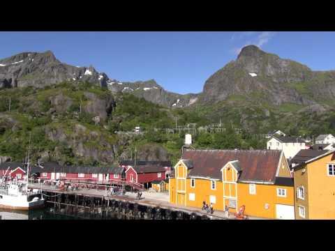 Norvège : Panoramique îles LOFOTEN