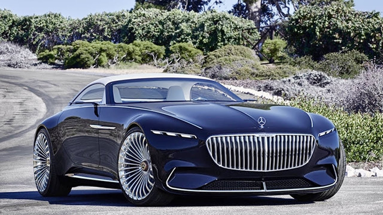All Electric Mercedes Maybach 6 Cabriolet Concept Revealed Youtube