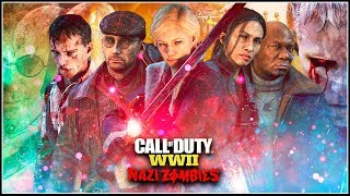 🌟 HISTORIA WWII ZOMBIES COMPLETA 🌟 || Explicación - Todos los mapas / Easter Eggs (Call Of Duty WW2)