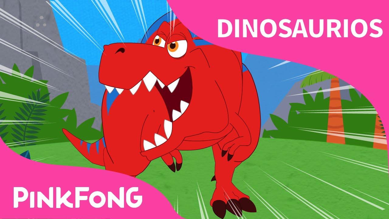 Tiranosaurio Rex Dinosaurios Pinkfong Canciones Infantiles
