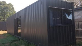 40'HC Container Cabin - Container Construction