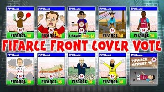 fifa 16 front cover vote cartoon parody harry kane sterling phil jones face and more trailer