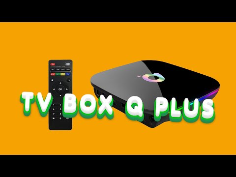 Смарт ТВ-бокс Q+, Q Plus Smart Tv Box Android 9,0! тв приставка Allwinner H6!
