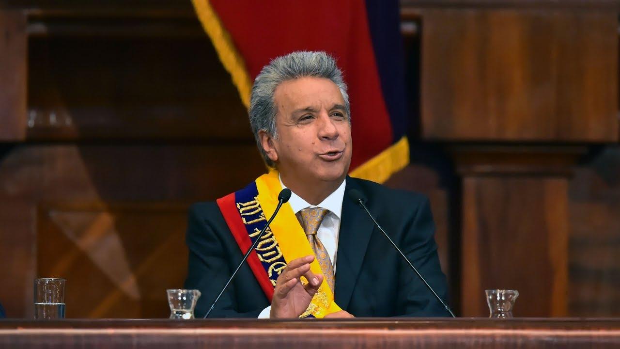 Αποτέλεσμα εικόνας για lenin moreno presidente