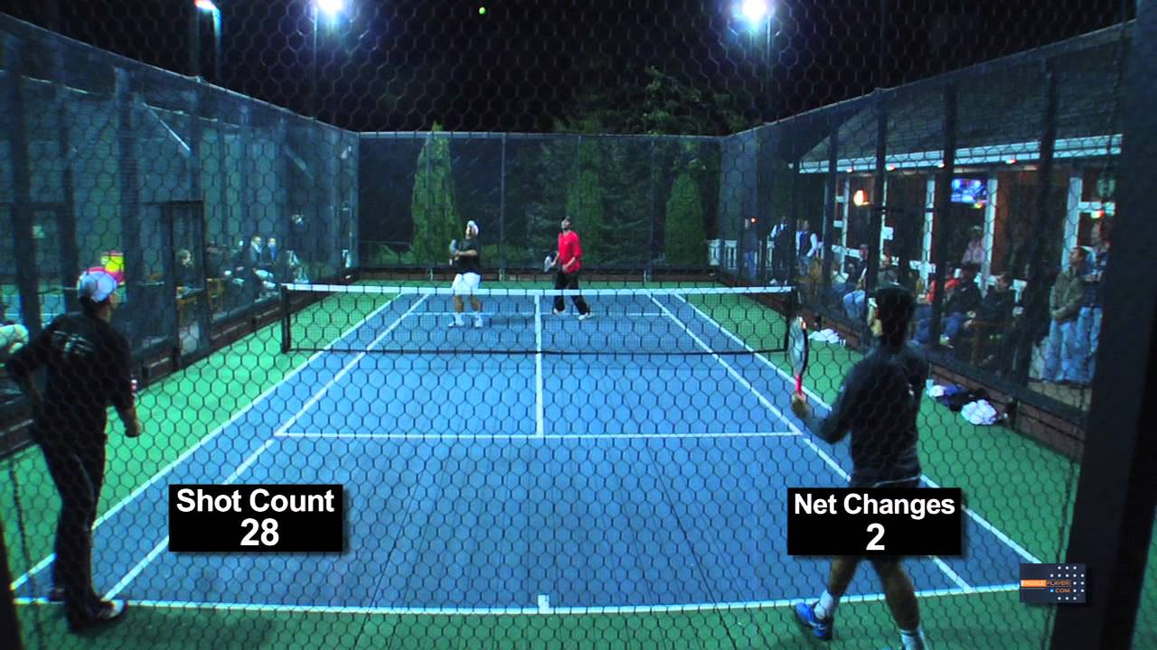 An Above Average Platform Tennis Point Youtube