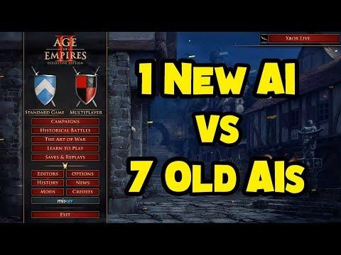 1 New AI vs 7 Old AIs