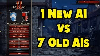 1 New AI vs 7 Old AIs