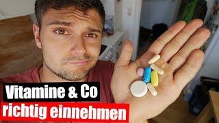 WANN sollte man Vitamine einnehmen? 💊⌚🍋