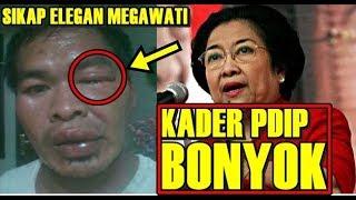Diluar Dugaan! Megawati Lakukan Hal Ini Saat Kader PDIP Dikeroyok