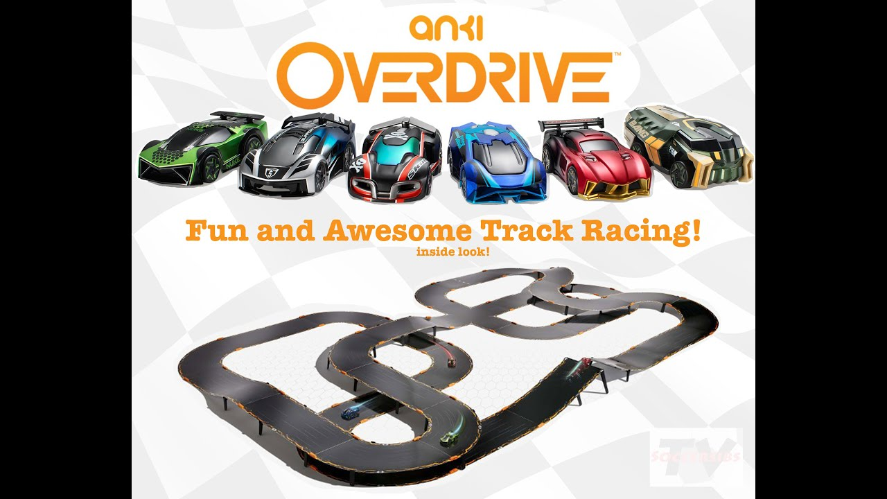 anki overdrive racing car demo battle and race great. Black Bedroom Furniture Sets. Home Design Ideas