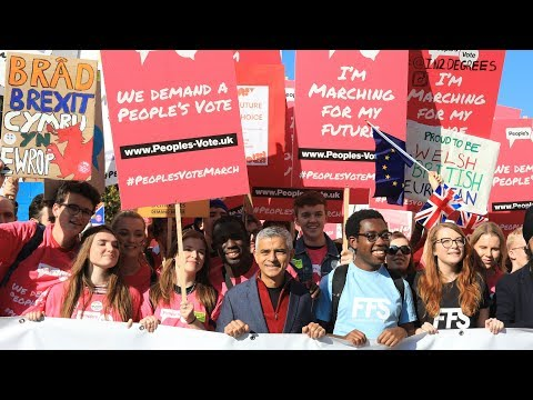 People's Vote speeches – watch live