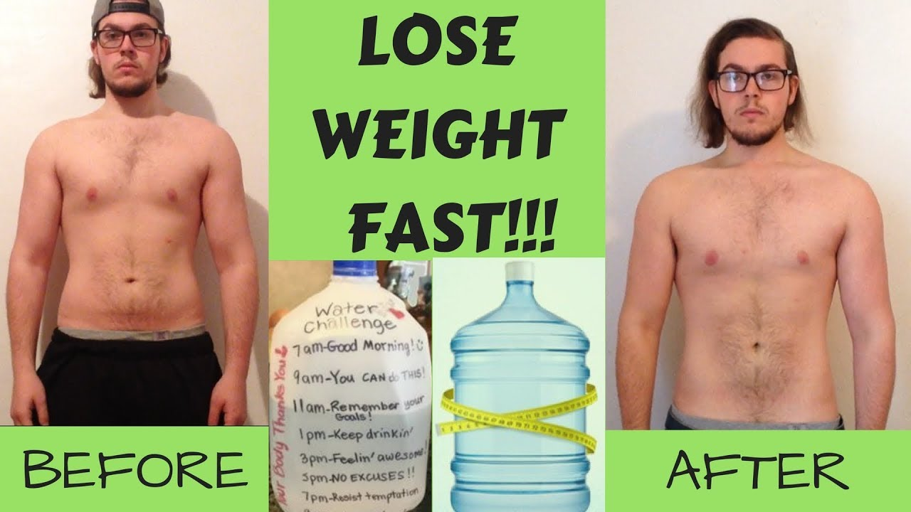 LOSE 15 POUNDS OVERNIGHT!!! | Everything You Need To Know About Water Weight  | 1 Day Transformation - YouTube
