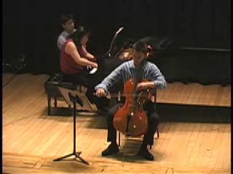 César Franck Sonata in A Major, M2 ~ Jonah Ellsworth, cello; Heng-Jin Park, piano