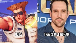 Characters and Voice Actors - Street Fighter V: Arcade Edition