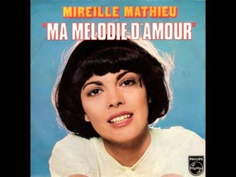 Mireille Mathieu Ma mélodie d'amour (1976)