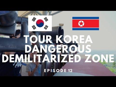The DANGEROUS Korean Border - A look into North Korea (DMZ) | TOUR KOREA EP12