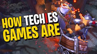 How Techies Games Are - DotA 2
