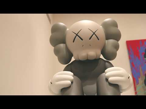 """Kaws """"GONE"""" Exhibit at Skarstedt Gallery NYC  [Extended]"""