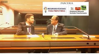 Como conseguir Recursos Federais para sua Prefeitura - Entrevista com o especialista Professor Amaro