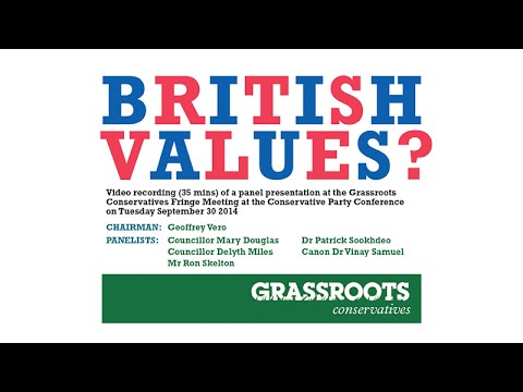 """British Values"" – Grassroots Conservatives"