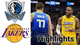 Check out nba chrismas day mavericks vs lakers highlights subscribers to sports talk line channel for more and join our membership programs...