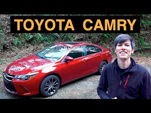 2015 Toyota Camry V6 – Review & Test Drive