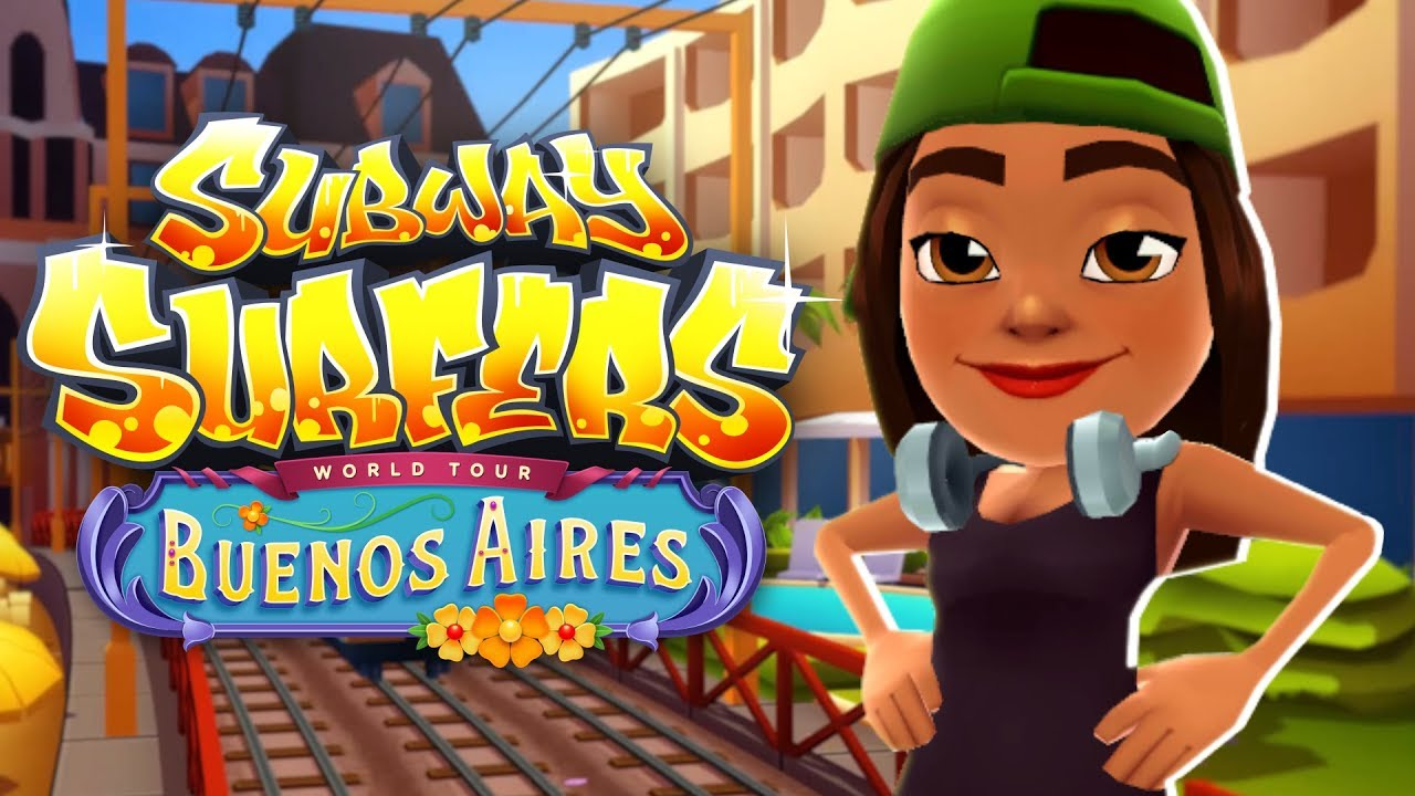 Subway Surfers World Tour 2018 Buenos Aires Official Trailer