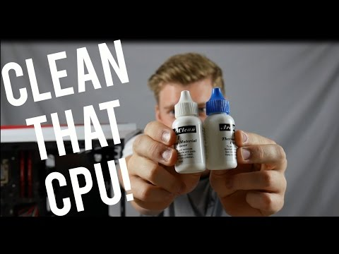 How to Clean your CPU!