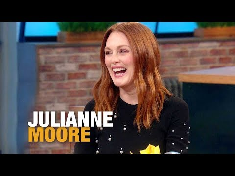 The Creepy Sound Anthony Hopkins Taught Julianne Moore's Son on