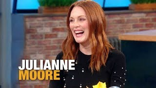 "The Creepy Sound Anthony Hopkins Taught Julianne Moore's Son on ""Hannibal"" Set 